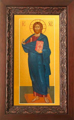 Купить икону Господа Вседержителя в киоте