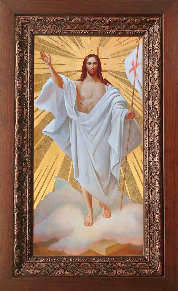 Купить икону Господа Вседержителя в хитоне в киоте