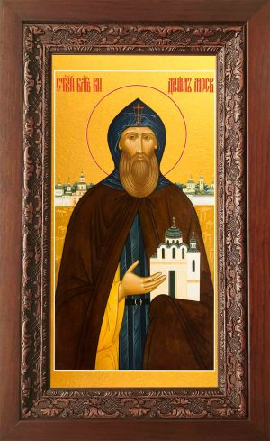 Купить икону Даниила Московского в киоте в православном интернет магазине