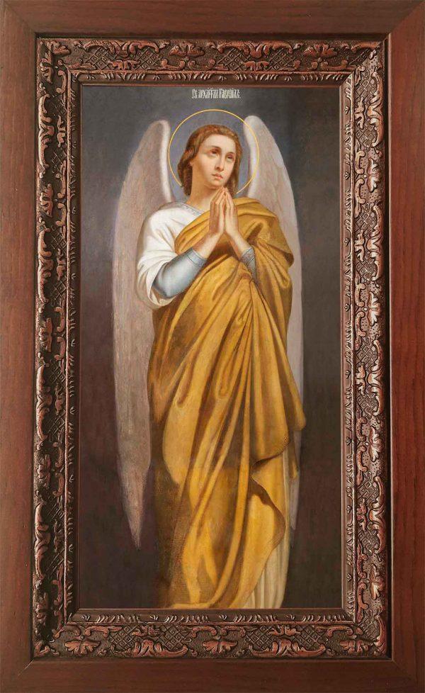 Купить икону Гавриила Архангела в киоте