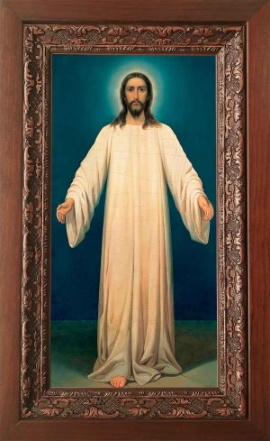 Купить икону в киоте Спаситель в Хитоне